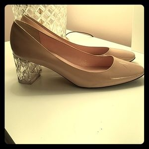 AUTHENTIC  PINK PATENT KATE SPADE HEELS